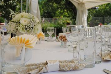 Wedding reception in Bezden village.